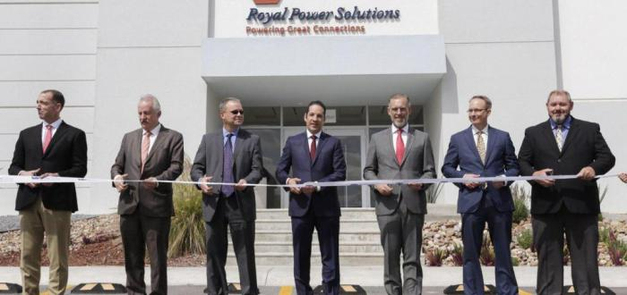 Royal Power Solutions Queretaro Ribbon Cutting