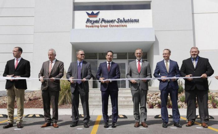 Royal Power Solutions Queretaro Ribbon Cutting